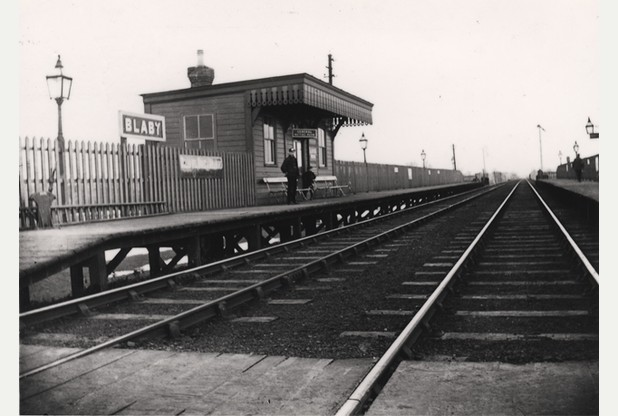 Blaby station around 1900